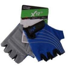 Велоперчатки X-17 XGL-118 BL детские