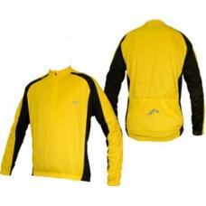 Велоджерси More Mile Yellow