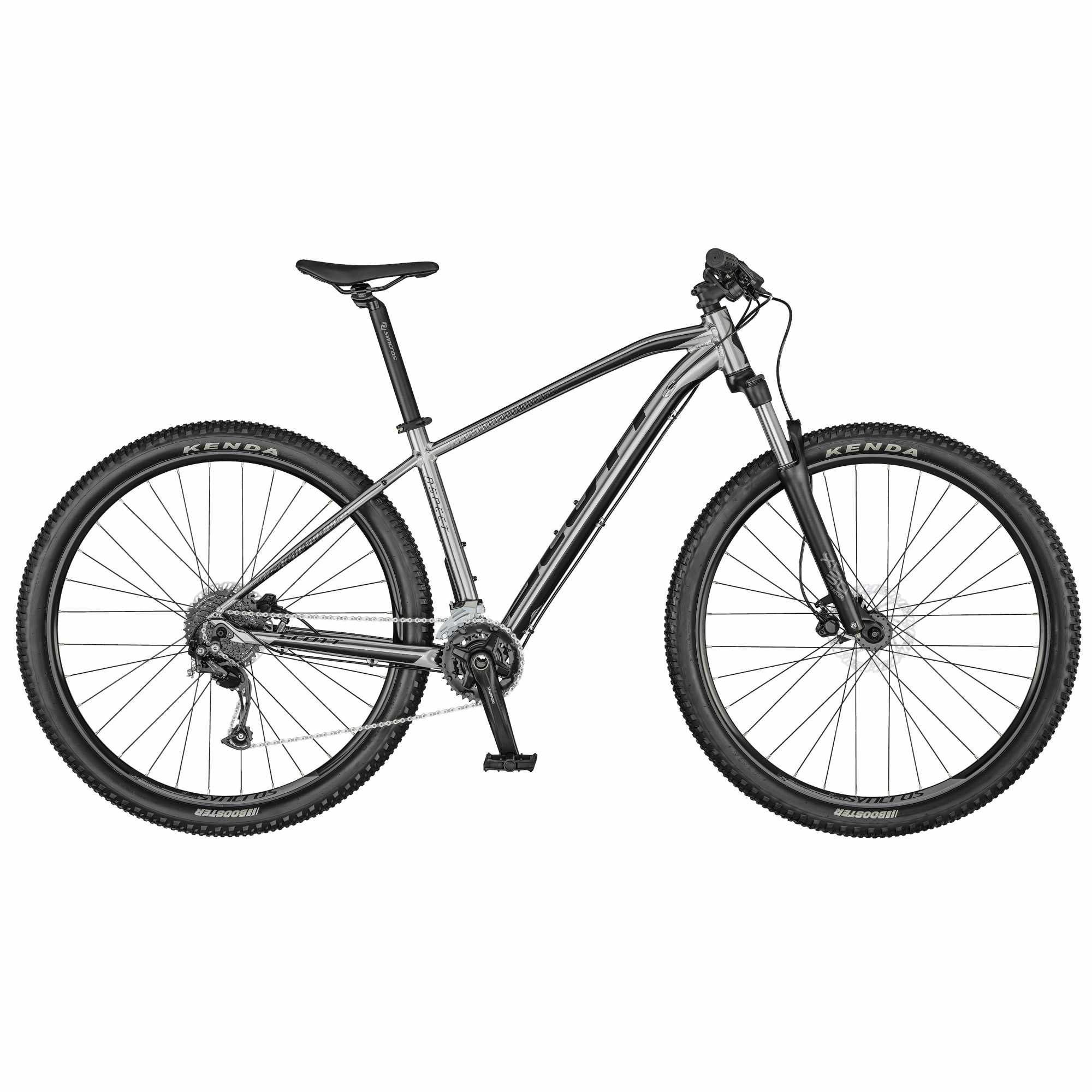 Велосипед SCOTT Aspect 750 slate grey (2021)